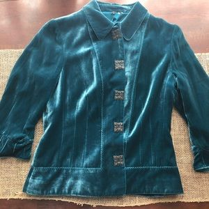 Tamari Super Soft Blue Jacket Size 10